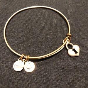 Alex And Ani Heart Bracelet
